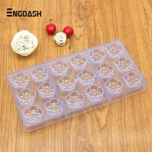 hot deal buy engdash 1pc 3d chocolate mold polycarbonate christmas tray bakeware diy pastry tool for chocolate bar form bakeware moulds