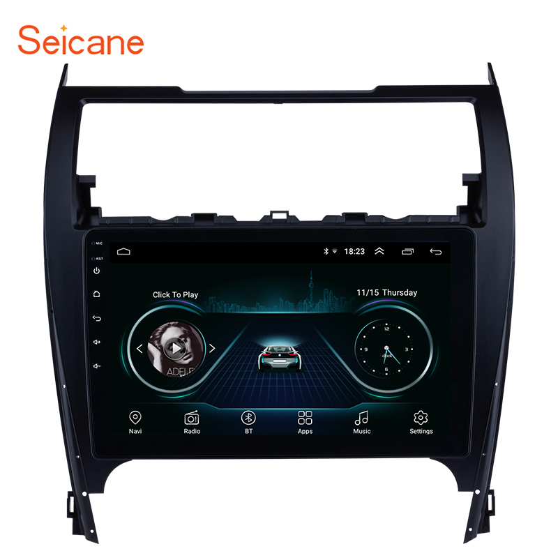 Seicane Android 8.1 Car Radio Multimedia Player For TOYOTA CAMRY 2012 2013 2014 2015 2016 2017 2din GPS Navigation Support OBD2 image