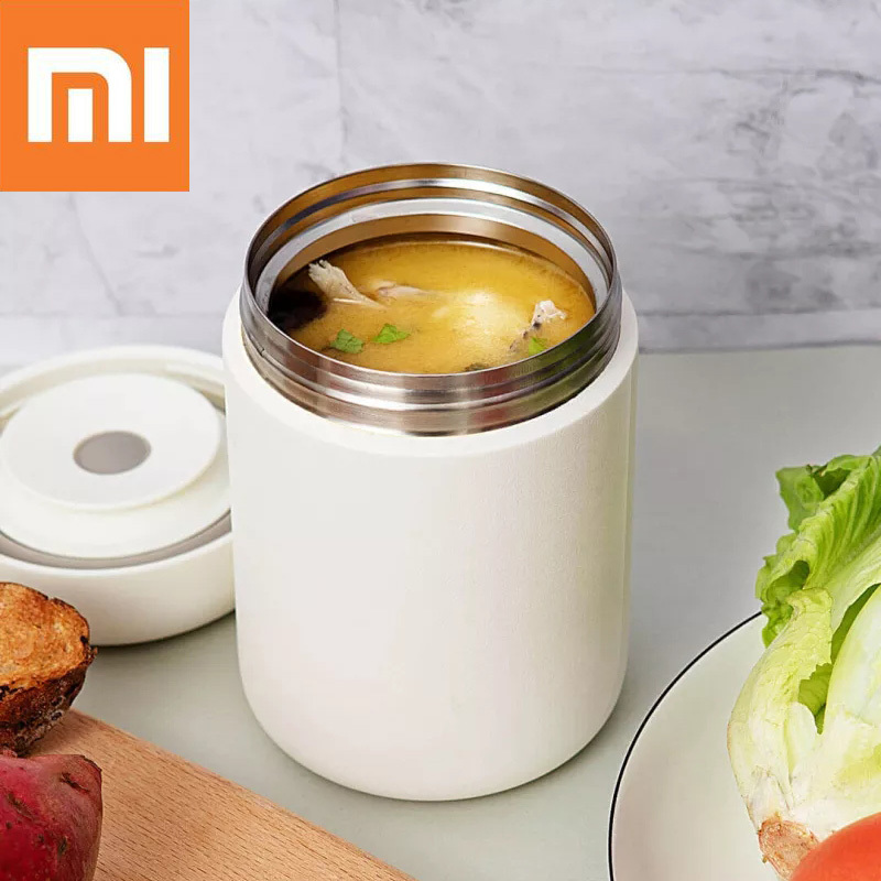 Vacuum Flasks Containers Insulated-Cup Heated Food-Braised Lunch Xiaomi 550ml with Pinlo title=