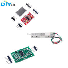 Weight Sensor Electronic Kitchen Scale Load Cell 1kg 2kg 3kg 5kg 10kg 20kg + HX711 AD Weighing Module 5set hx711 weighing weight sensor electronic scale ad module dual channel 24 bit a d conversion metal shied beus load cell