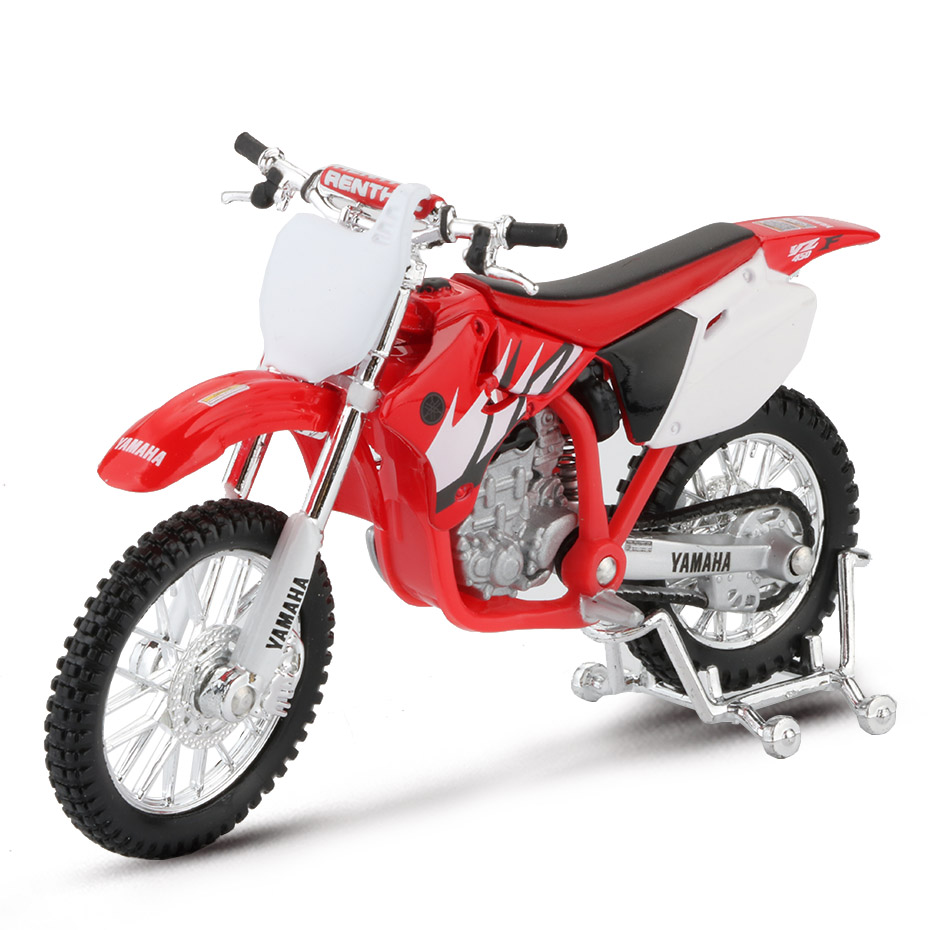 Maisto 1:18 Mountain Motorcycle Model Toy Alloy Off Road YZ-450F Motor Bicycle Models Racing Car Toys For Boys Collection Gift