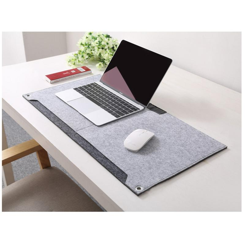 Super Large Mouse Pad For Games Fashionable Washable Felt Table Mat Computer Cushion For Home Office Supplies