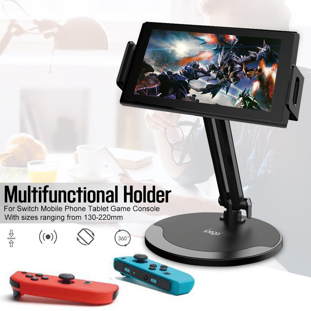 PG-9158 Multifunctional Mount 360 Degree Rotation Adjustable Multifunctional Holder For Switch Mobile Phone Tablet Game Console