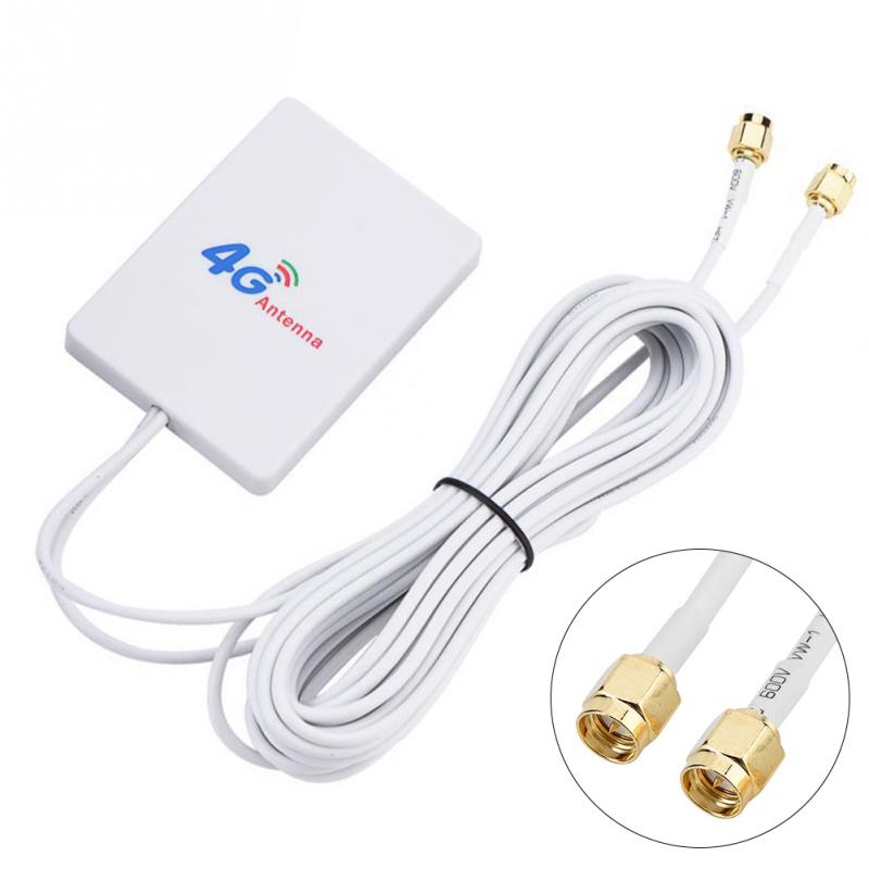 28dBi 4G 3G LTE Antenna TS9 Connector Router Anetnna External Signal Amplifier