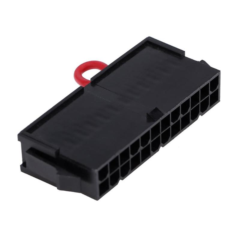 24 Pin Atx Connector Extention Cable Computer Power Supply Tester Power Supply Jump Start Connector Detector Meter