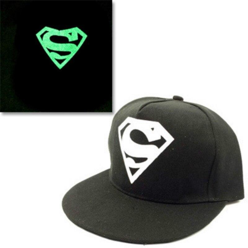 Night Club Snapback Cap For Women Men Fashion Fluorescence Hip Hop Hat Printing Baseball Cap Casquette Luminous Topee