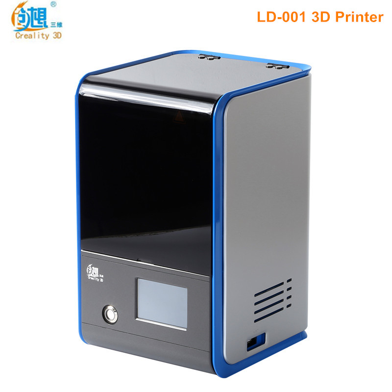 Creality3D LD-001 3D Printer High Accuracy Full-color touch screen DIY 3D Printing Aluminum Alloy DLP Light Curing 3d Printer цена
