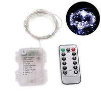 LED Decorative New with Control Lights Remote use approx Tree 3 Christmas Xmas AA Lights 5meters Total Wedding batteries