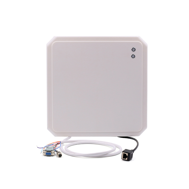CHAFON 868mhz long range 10m uhf rfid reader rj45 RS232 WG26 RS485 for vehicle parking and warehouse management