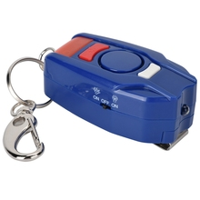 Self defense Safety Device  125-128dB Personal Alarm Keychain Outdoor Emergency  with LED Light
