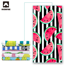 Microfine Microfiber Beach Towel Pink Summer Bath Towels For Adults Big Beach Mat Quick Dry Swimming Pool Poncho Blanket Travel