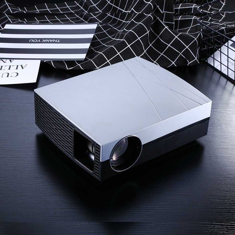 2019 Smartldea F20 Full HD 3D LED Projector Home Cinema Beamer Option F20UP  Android6 0 5G wifi Bluetooth HDMI 4K AC3 SPDIF audio