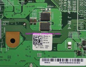 Image 4 - Véritable CN 0K137P BR 0K137P 0K137P K137P ALBA 08265 1 48.4BK09.011 ordinateur portable carte mère pour Dell Inspiron 1440 ordinateur portable