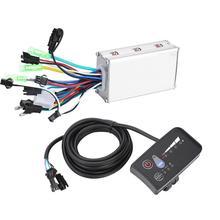 Controlador de bicicleta eléctrica, dispositivo controlador de E bike sin escobillas, resistente al agua y con pantalla LED LCD, 24V, 36V, 48V, 250W/350W