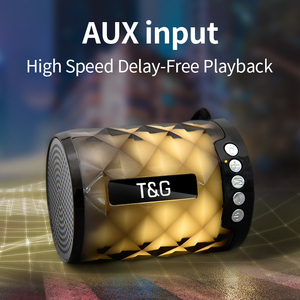 Image 4 - TG Colorful Led Bluetooth Speaker Portable Outdoor Bass Loudspeaker Wireless Mini Column Support TF card FM Stereo Hi Fi Boxes