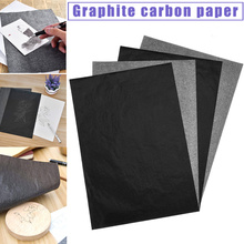 100 Pcs Carbon Paper Transfer Copy Sheets Graphite Tracing A4 for Wood Canvas Art WXV Sale