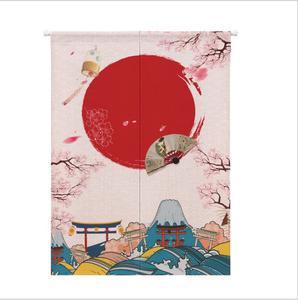Image 2 - XIAOKENAI Vải Lanh Cotton Màn Nửa Màn Nhà Bếp Nhật Bản Phòng Ngủ Trang Trí Nhà Phân Vùng Màn Rèm Nhà Tắm