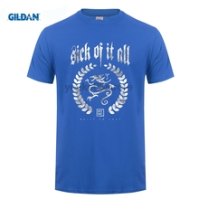 купить GILDAN Sick of It All Built To Last T-Shirt Men and Women NYHC Hardcore Punk Tee big Size S-XXXL онлайн