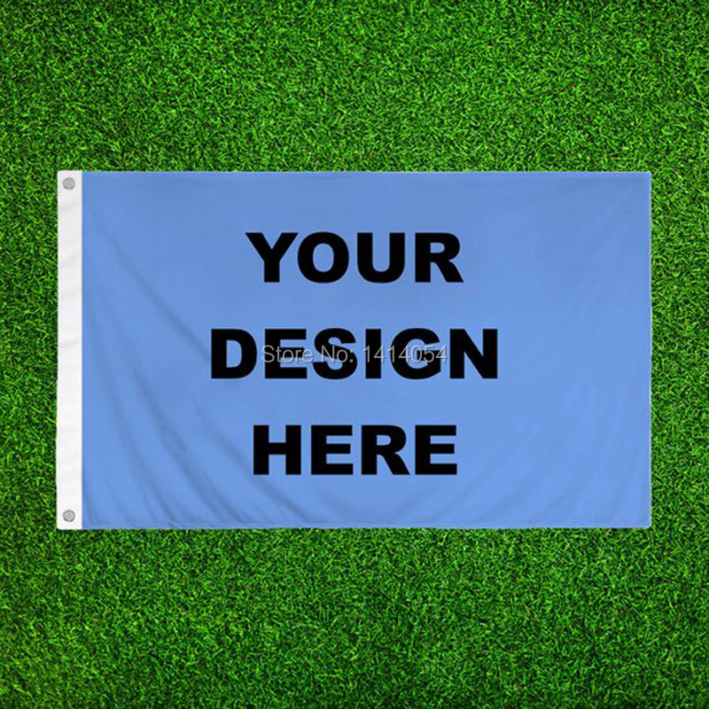Custom Flagge 3x5FT Jede Logo Banner 100D Polyester Druck Dekoration Sport Werbung Außen Flagge Messing Ösen, Freies Verschiffen