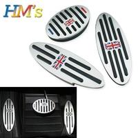 For Mini Cooper Countryman Clubman S One R50 R53 R55 R60 R61 F55 F56 F54 F60 Foot Rest Pedal Sticker For MINI R56 Accessories