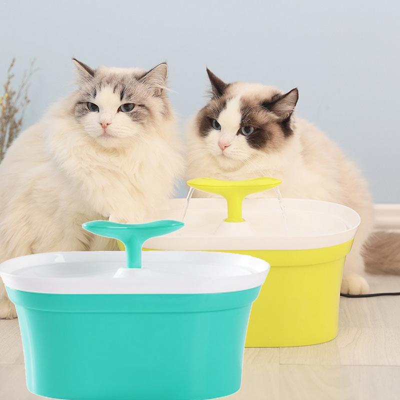 Système potable frais de distributeur d'eau de chien de chat de fontaine d'animal familier automatique de 95 OZ 2.8L avec le filtre à carbone à plusieurs étages de haute qualité