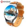 Умные часы NIYOQUE KW98  GPS  Bluetooth  Wi-Fi  3G  sim-карта  Android 5 1  ROM  8 ГБ  Смарт-часы  спортивные часы с пульсометром для здоровья