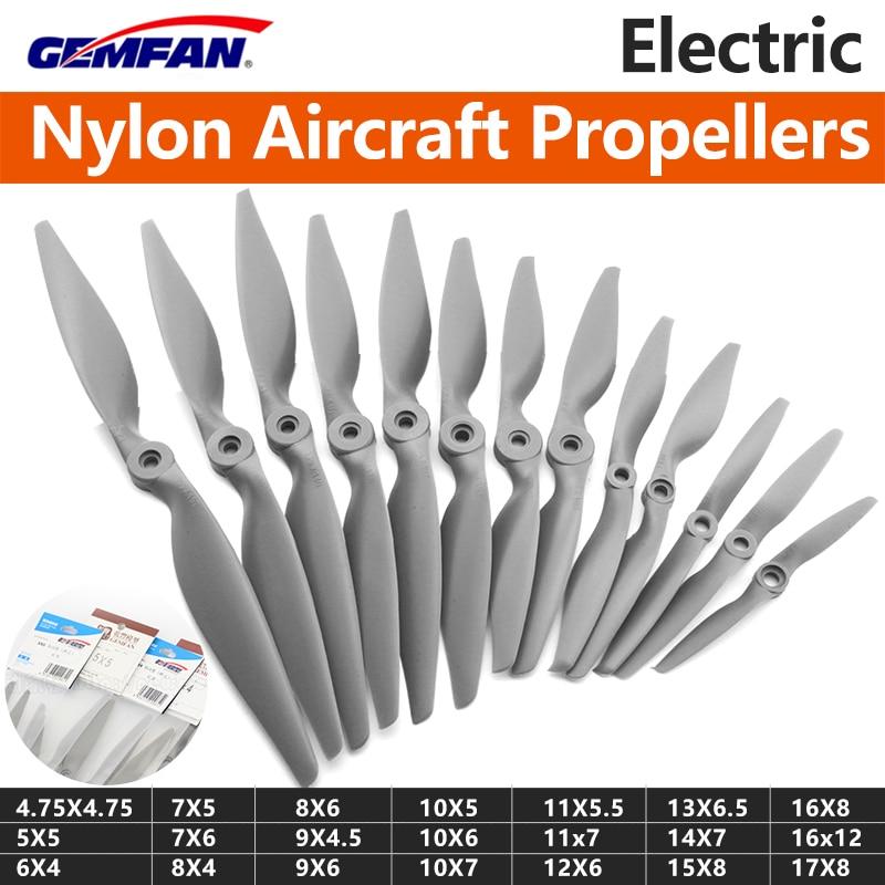 2PCS Gemfan APC Hélice 1155 1260 1365 1470 1170 1280 1340 1360 Para Rc Airplan