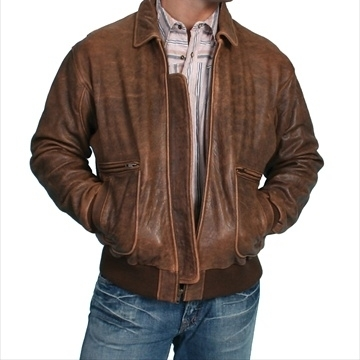 b6ef8688f US $644.89 |Scully 714 12 L Mens Leather Wear Lambskin Bomber Jacket Brown  Antique Lamb Large-in Jackets from Men's Clothing on Aliexpress.com | ...