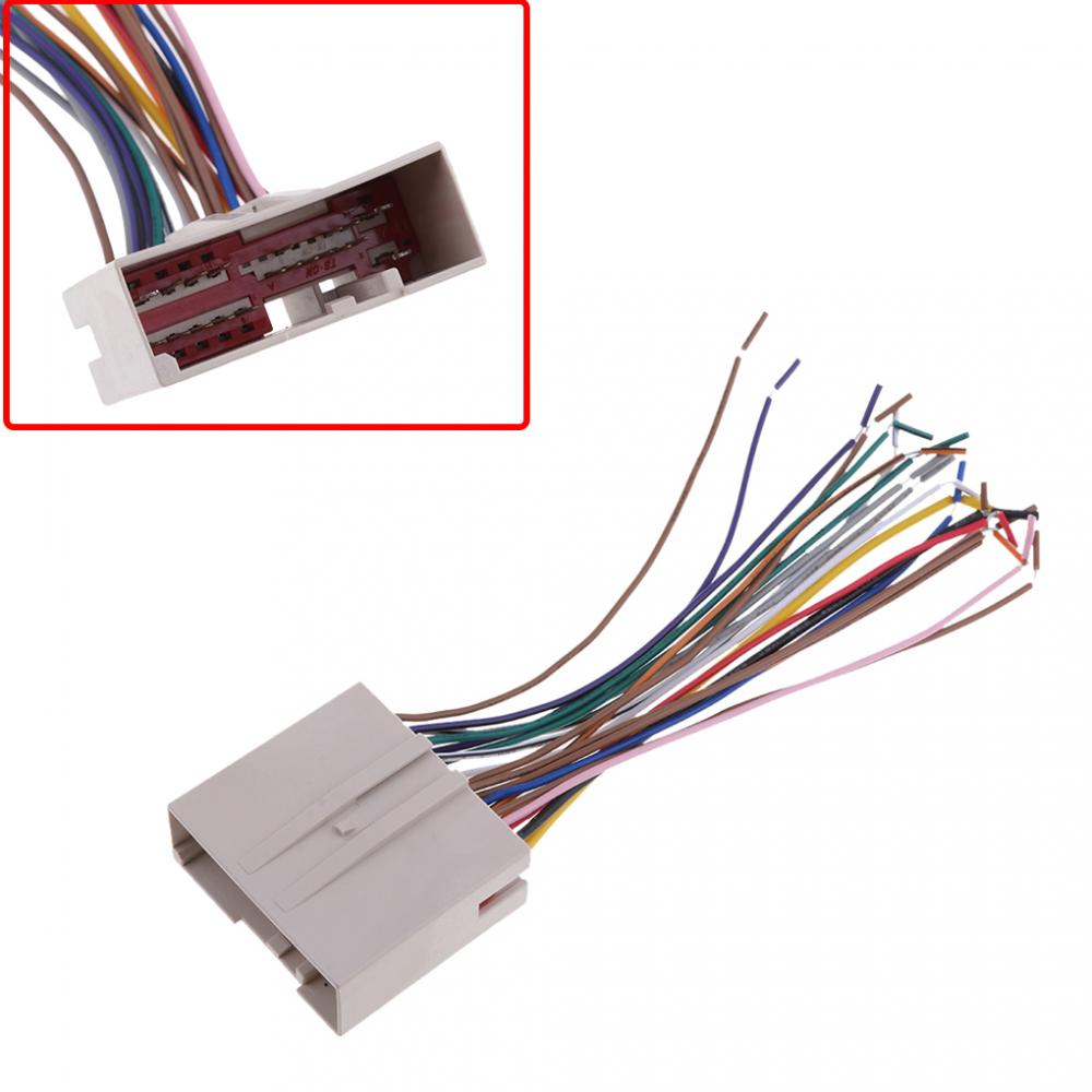 Audio Car Stereo Wiring Harness Cd Player Wire For Ford