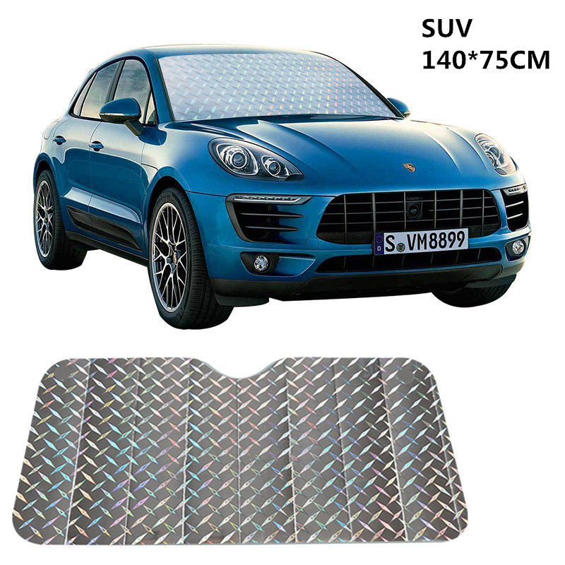Car Window Sunshade Front File Windshield Sunshade Sun Protection Suitable Multiple Types Car Windshield Sun Shade