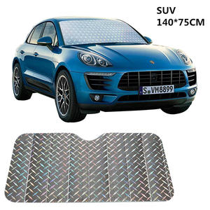 Sunshade Windshield Sun-Protection Car-Window Types Front-File Suitable-Multiple