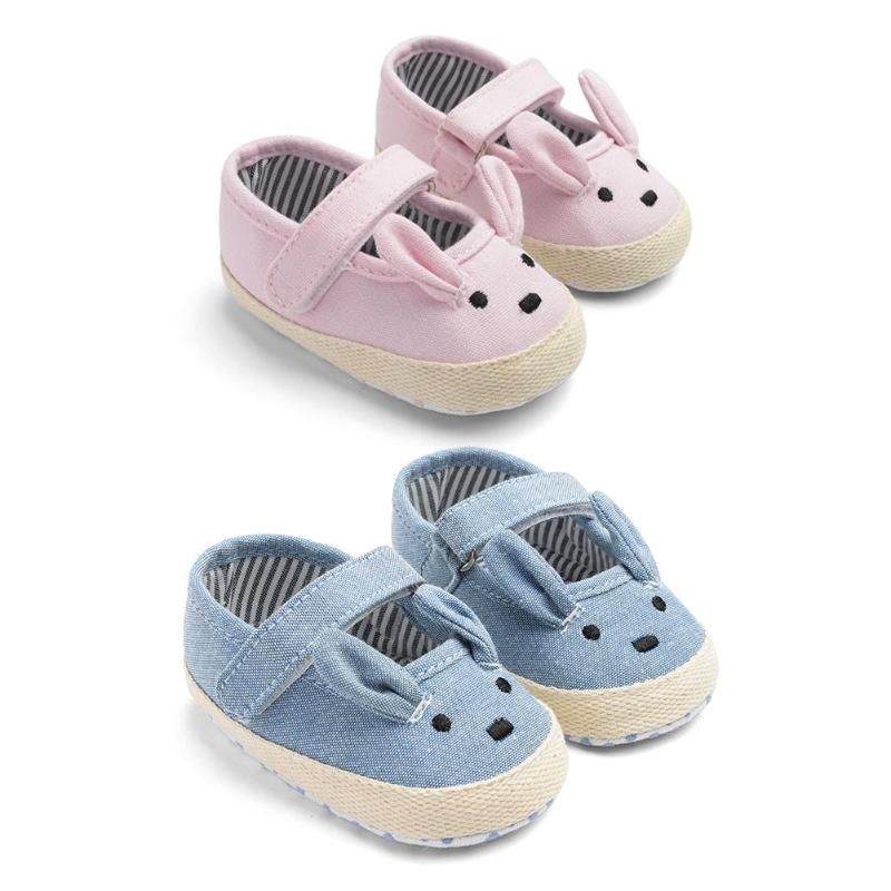 Baby Prewalker Easter Rabbit Casual Shoes Fashion Newborn First Walkers Cute Bunny Shoes Easter Gift