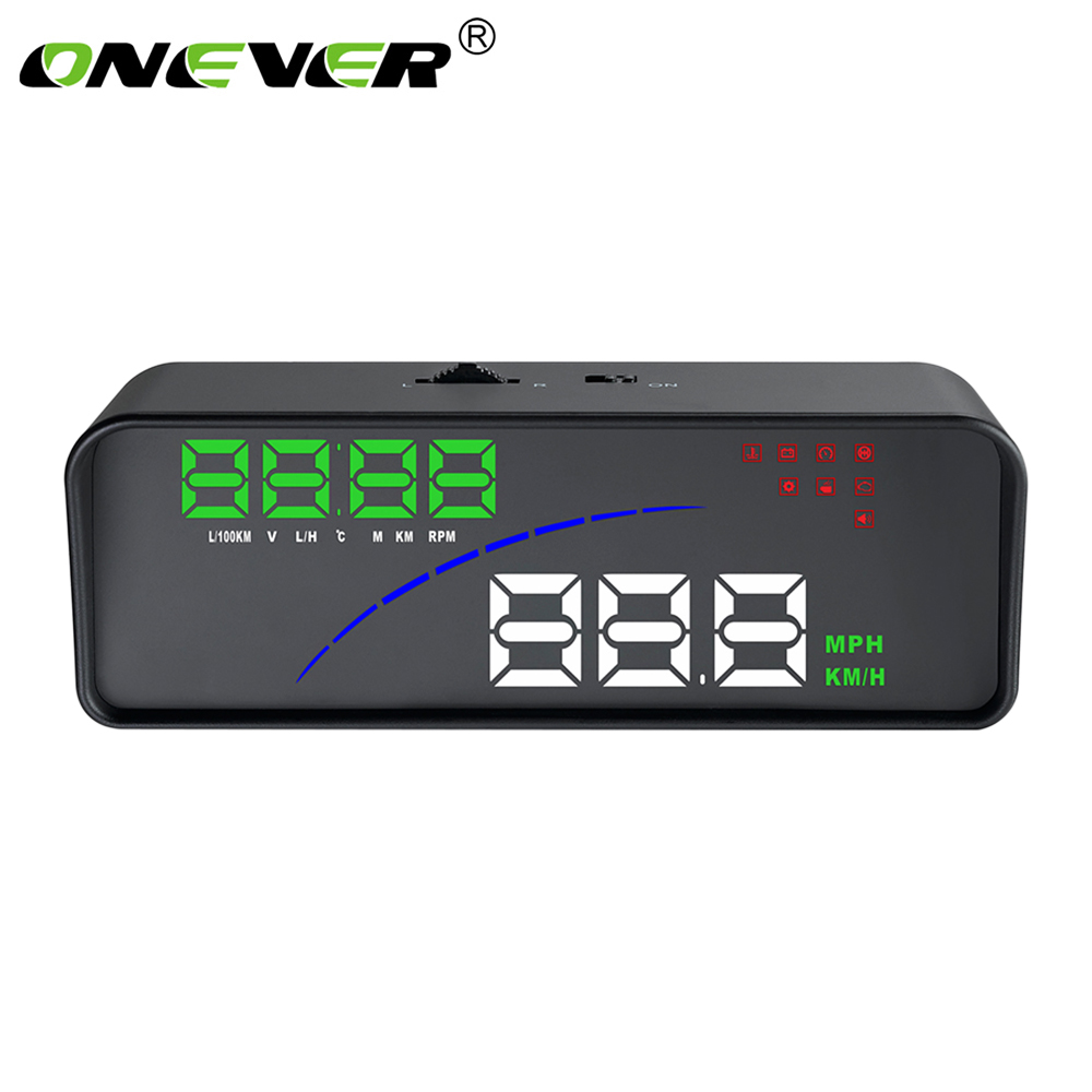 Car Electronics AccessoriesNavigation Head-Up Display Smart Digital Meter Functions Automatic Backlight Windshield Plug And Play