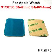 FaiShao 100pcs/lot 38mm 42mm 40mm 44mm LCD Display Screen Adhesive Sticker For Apple Watch Series 1 2 3 4