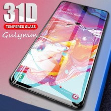 31D Screen Protector For Samsung Galaxy A 10 20 30 40 50 60 70 80 90 2019 Full Cover Tempered Glass J2 J4 Core  Safety