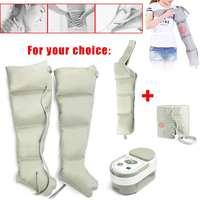Electric Air Compression Leg Massager Leg Wraps Foot Ankles Calf Massage Machine Promote Blood Circulation Relieve Pain Fatigue