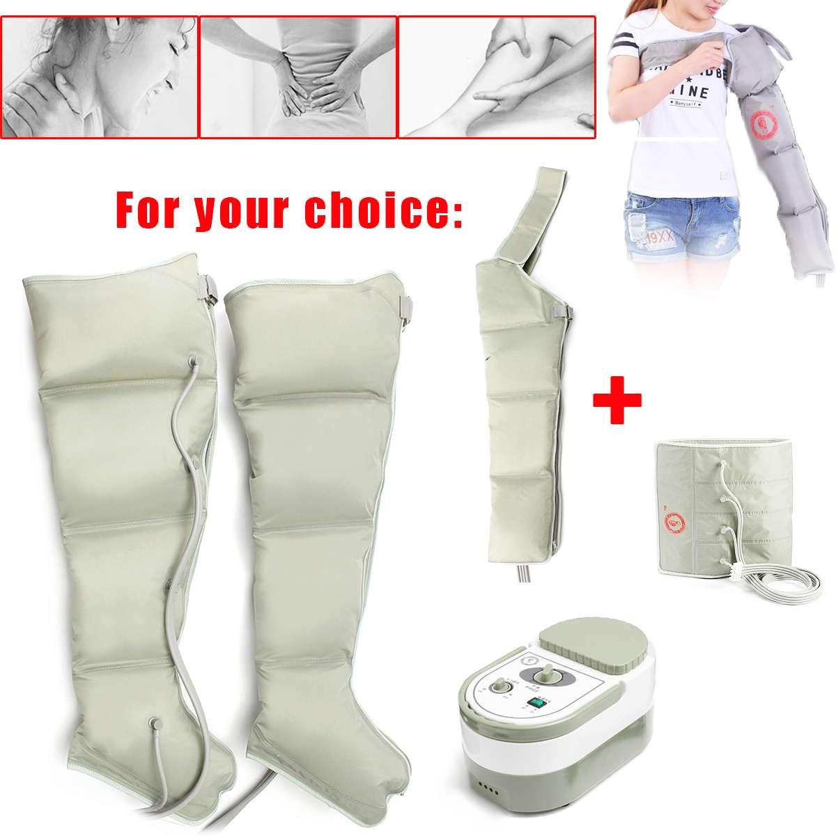 Thérapie infrarouge Compression de l'air masseur de corps taille jambe bras Relax Instrument promouvoir la Circulation sanguine soulagement de la douleur minceur