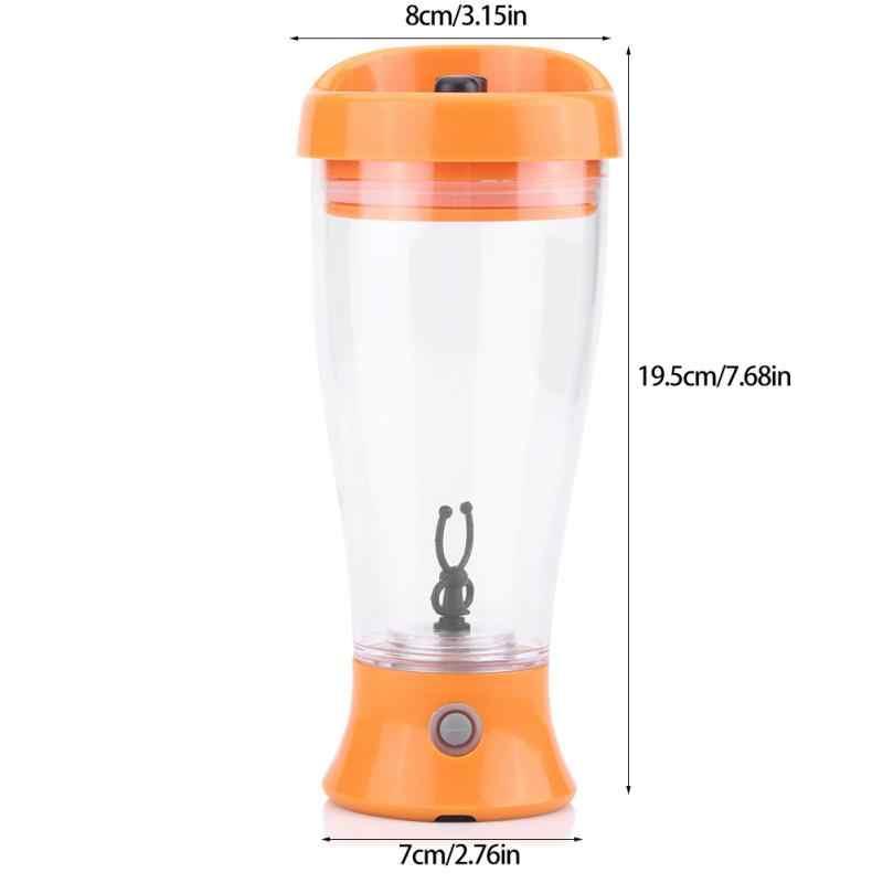 A Proteína do Leite elétrica xícara de Café Automática Copo Misturador Alimentado Por Bateria Frutas Shaker Garrafa Liquidificador para Uso de Viagem Para Casa