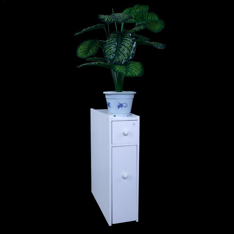 Fente mobile armoire étroite blanc 2 porte coulissante plate multi-portes économie d'espace combinaison armoire casier