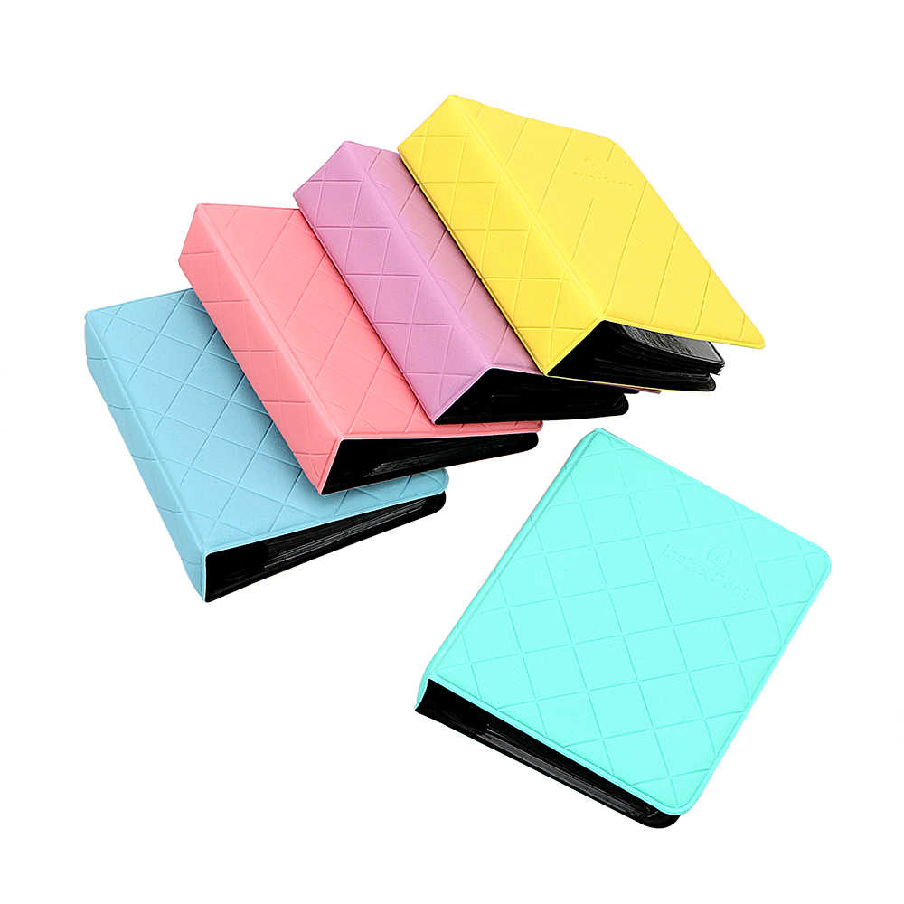 ID Card Tickets Package Storage Photo Album Photography Albums For Fujifilm Polaroid Mini Instant Picture Portable 36 Pockets