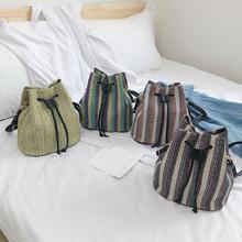Ткачество Сумки-шопперы для женщин ромбовидная решетка узор сумка женская сумка Топ-ручка сумка Bolsos Mujer