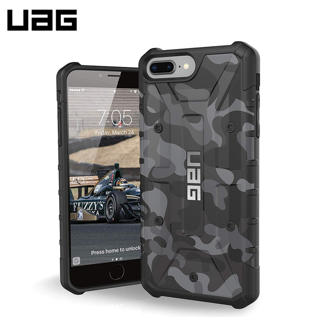 Защитный чехол UAG Pathfinder для iPhone 8/7 Plus цвет Черный камуфляж/IPH8/7PLS-A-BC/32