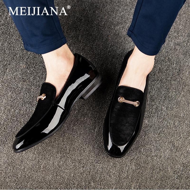 De Mariage Chaussures Noir Casual Qualité 2019 Air Mocassins Mode Banquet Respirant En Plein Haute Nouveau Hommes Meijiana wHxYXq