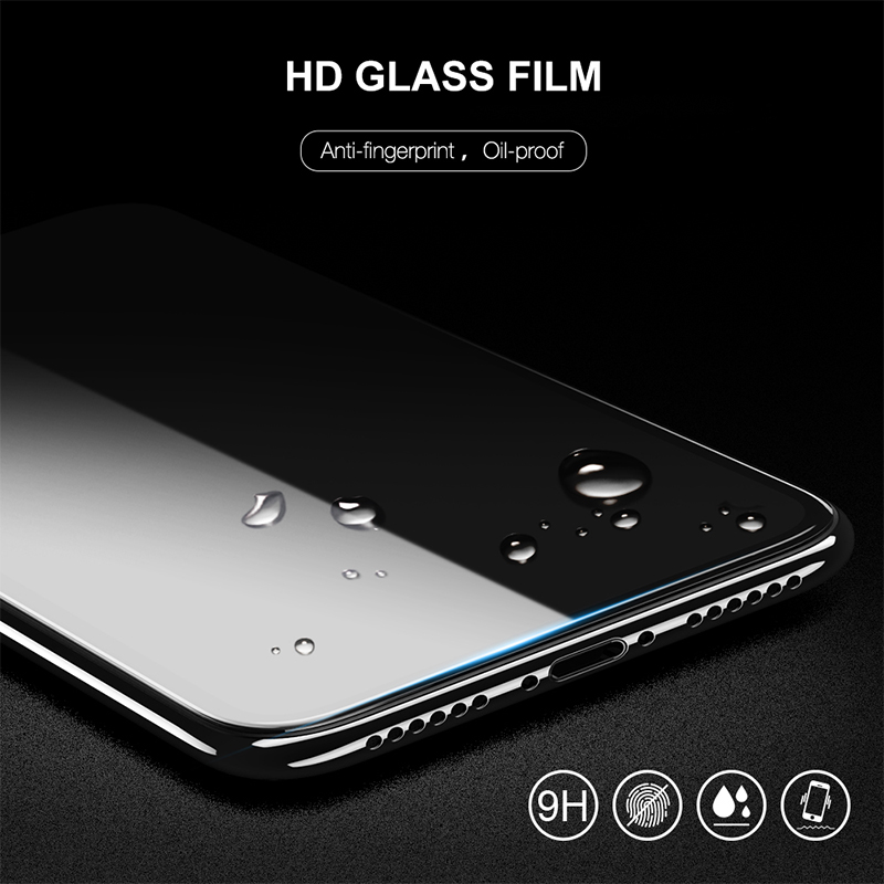 9D Full Glue Cover Tempered Glass For Huawei Honor 8A 8C 8S 8X 7APro Screen Protector For Honor 20i 10i 9 8 Play Protective Film