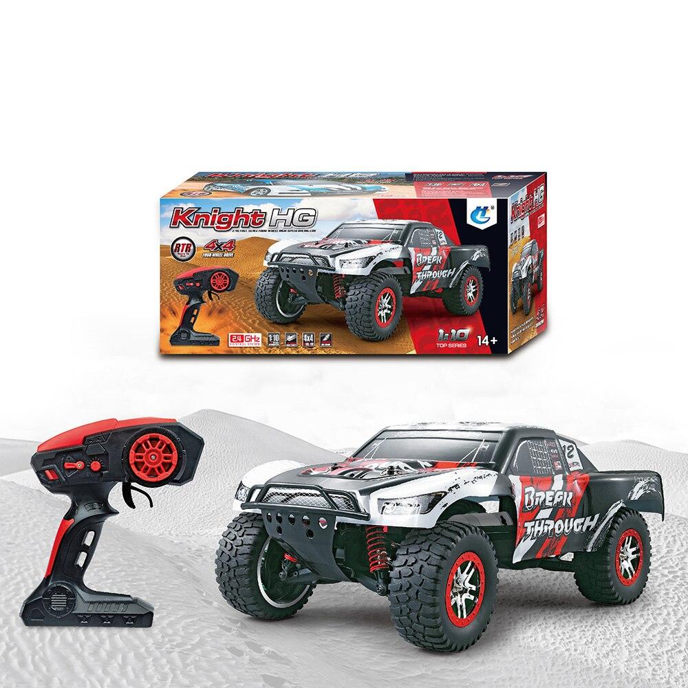Nouveau 1/10 2.4G haute vitesse RC voiture avec émetteur 3000 mAh batterie télécommande voitures de course pour garçons enfants cadeaux de haute qualité