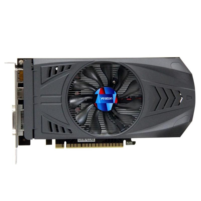 Yeston GTX 1050 Ti NVIDIA carte graphique GTX 1050Ti Extreme Edition GPU 4 GB GDDR5 128bit PCI-E 16 3.0 PC Gaming vidéo Carte 16nm