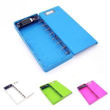 17*8*2,2 cm 5V Dual USB 18650 caja de la batería del cargador del teléfono móvil DIY Shell Case para iphone6 Plus S6 de alta calidad #20