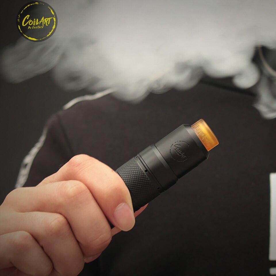 D'origine Coilart Mage mech V2.0 Empilés Édition Mech Mod Alimenté Par 18650/20700/21700 cigarette électronique Mod pour 510 - 3