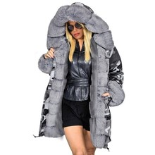 Long Parkas Female Winter Jaqueta Feminina Plus Size