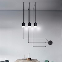 simple design Modern LED pendant lights fixtures for living dining room office restaurant hanging lamp home Suspension luminaria